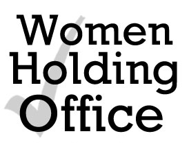 Women Holding Office